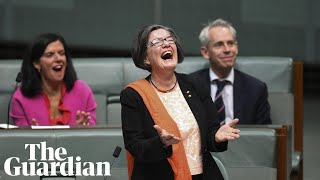 'Don't get mad, get elected': Independent Cathy McGowan gives valedictory speech