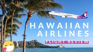 HAWAIIAN AIRLINES FLIGHT REVIEW 2020 (Flying During the Pandemic, LAX - HNL, Extra Comfort Seat)