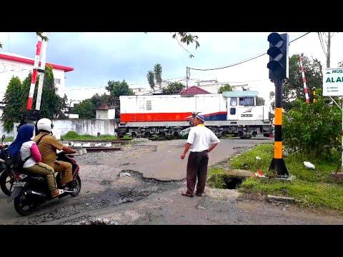 BERITA GEMBIRA! Segera Aktif Palang Perlintasan Kereta Api Cut Nyak Dien,Binjai Utara Sumatera Utara