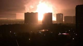 Смотреть онлайн Бытовой взрыв газопровода