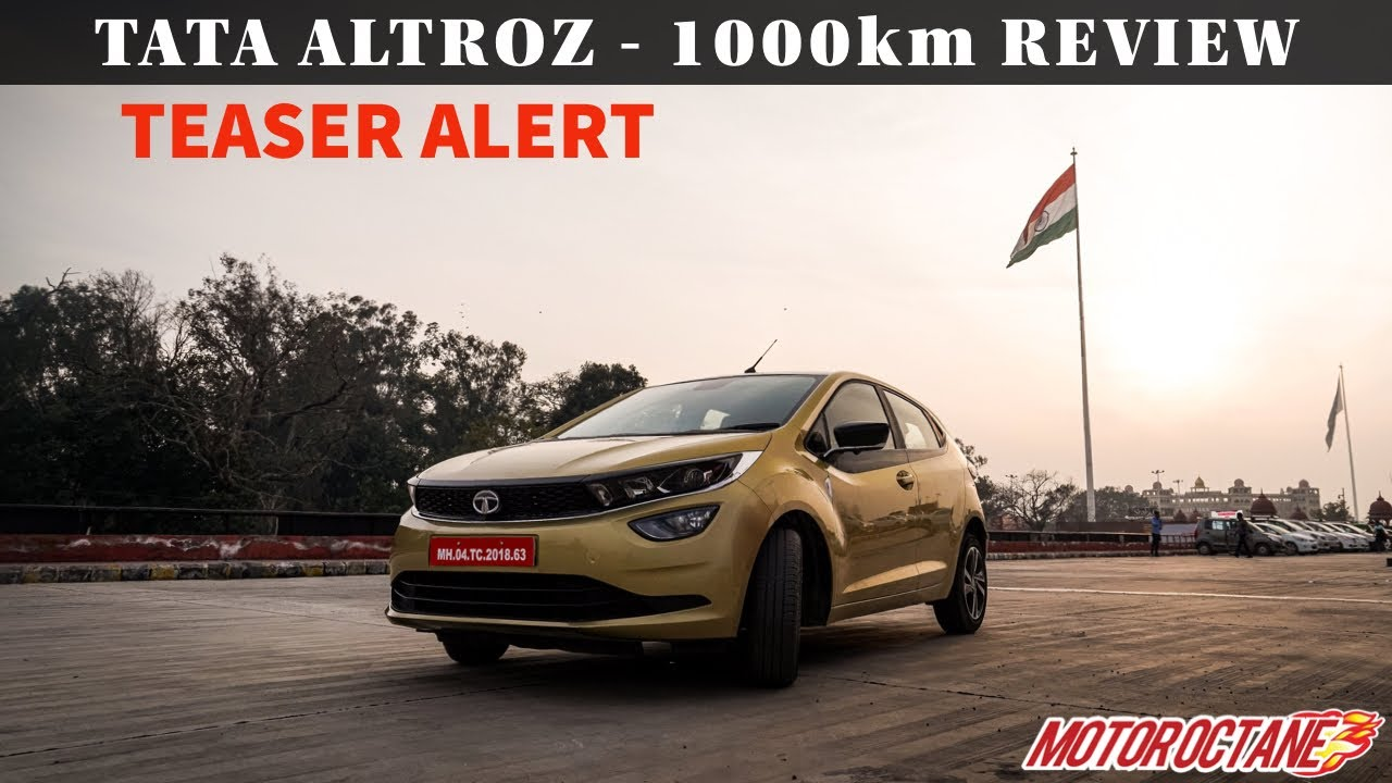 Motoroctane Youtube Video - Tata Altroz 1000km Review - Teaser