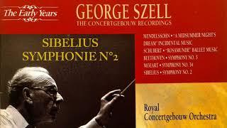 Sibelius - Symphony n°2 (reference recording : George Szell/Concertgebouw)