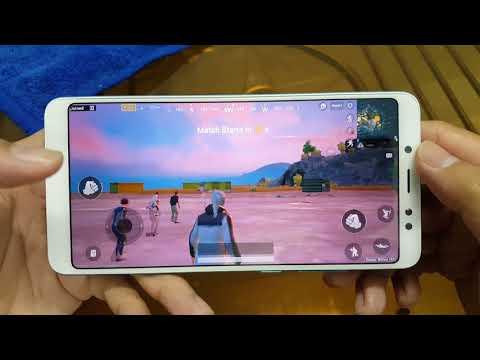 Test game PUBG Mobile on Xiaomi Redmi Note 5