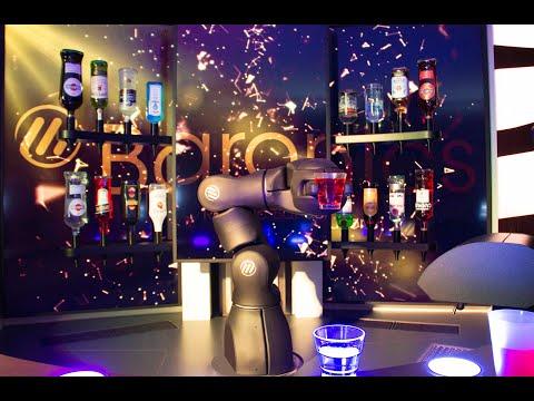 Barney, el Barman robot Suizo
