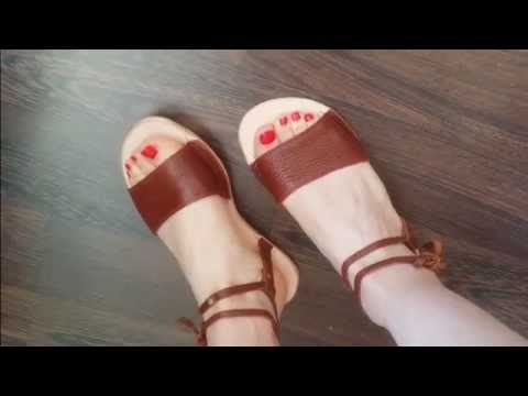 How I make a pair of Vale P. London Sandals.