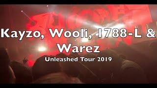 Kayzo, Our Last Night, 1788 L, Wooli, I See Stars & Warez | Unleashed Tour @ Aragon Ballroom (2019)