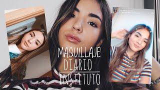 Mi MAQUILLAJE DIARIO Para El INSTITUTO (Makeup Routine) | @CLAKOVI