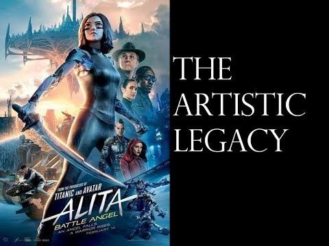 The artistic legacy of Alita : Battle Angel