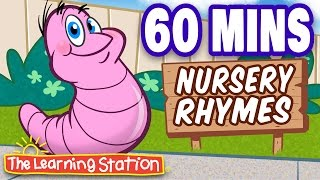 Herman the Worm - Popular Nursery Rhymes Playlist for Children - by The Learning Station