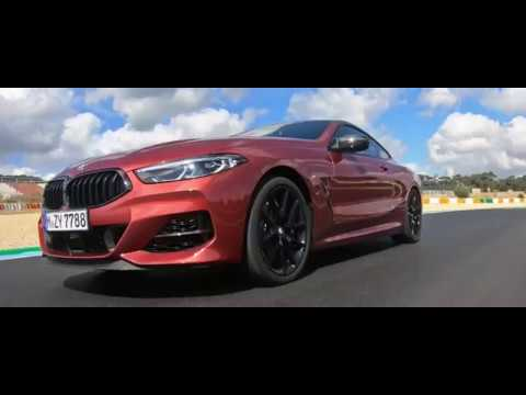 The New BMW M850i XDrive Coupe In Sunset Orange