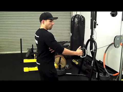 How to do Standing Single Arm Cable Rows