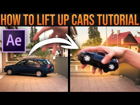 GRAB CAR with HAND (Zach King Style)│After Effects VFX Tutorial