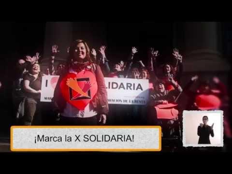 Spot X Solidaria Comunidad Valenciana