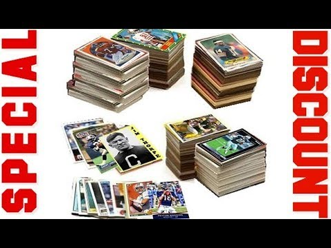 Special discount on 600 Football Cards Including Rookies, Many Stars, & Hall of famers 2018