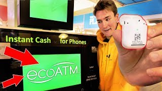 Selling AirPods 2 to the EcoATM Machine