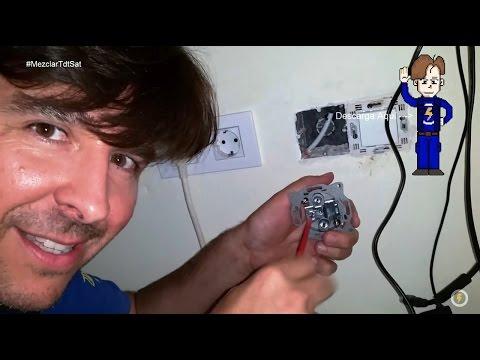 Cómo hacer Instalación TDT y Satélite Mezclados