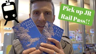 Arriving in Tokyo & Picking up JR Rail Passes | Japan 2016 | Episode 1