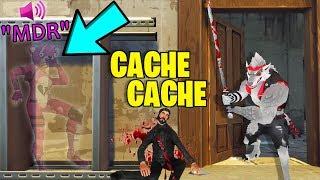 GROS PRANK EN INVISIBLE ! (Cache Cache Fortnite)