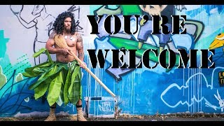 You're Welcome Moana Parody Dwayne Johnson