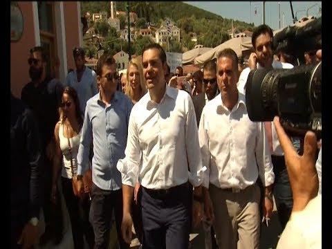 Περιοδεία του πρωθυπουργού Αλέξη Τσίπρα στην Ιθάκη