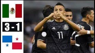 Mexico vs Panama 3-1 Highlights & Goals Resumen & Goles 2019 HD
