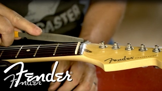 How To | Filing The Guitar Nut | Fender