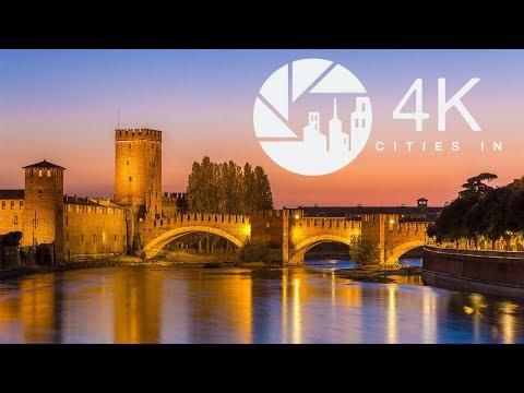 Venha conhecer Verona, na Itália, em um breve passeio
