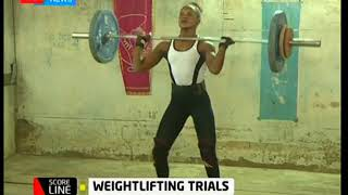 Scoreline: Weightlifting trials