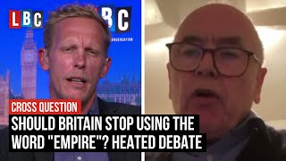 """Heated debate over whether Britain should stop using the word """"empire"""" 