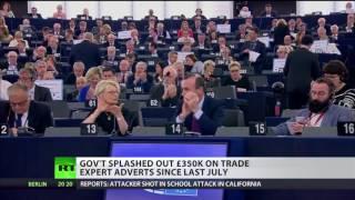 ESTOXX50 Price Eur Index Scotland welcome to join EU - 50 MEPs