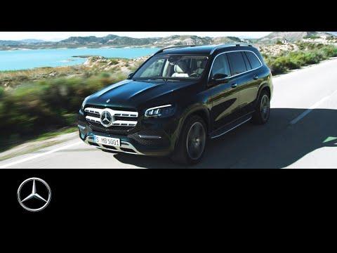 Mercedes Benz  Gls Class Внедорожник класса J - рекламное видео 1