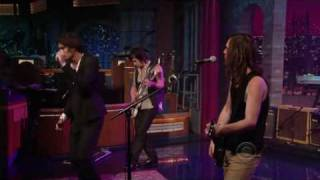 The Wind Blows (Live on David Letterman's Late Show) - The All American Rejects (High Quality)