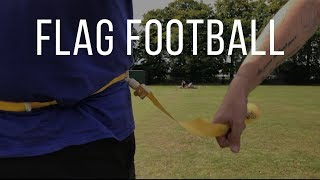 Flag Football with the Iceni Spears