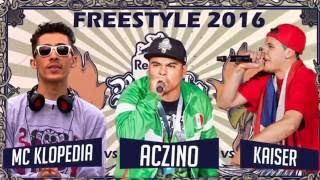 ACZINO(mexico)KAISER(chile)MC KLOPEDIA(VENEZUELA)/FREESTYLE RED BULL BATALLA DE LOS GALLOS/