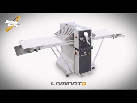 Video Laminoir boulangerie sur socle 650x2640mm LAMINATO SINMAG
