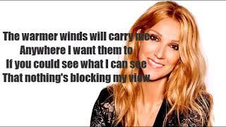 Céline Dion   Flying On My Own ( Lyric)