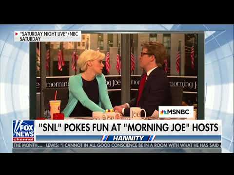 Laura Ingraham Pulls Out Her Mika Impression After Hannity Plays SNL Clip Mocking Morning Joe