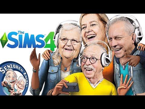 Sims 4 - Die Senioren WG | Senioren Zocken!!!