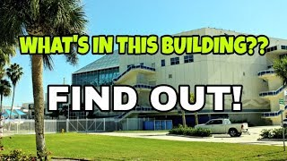 Something's FISHY About this building!  We go inside to investigate!