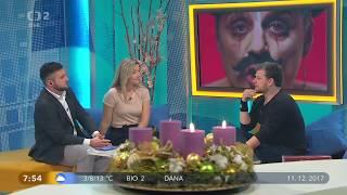 Honza Křížek - Dobré ráno na ČT2 11/12/2017 (celý rozhovor)