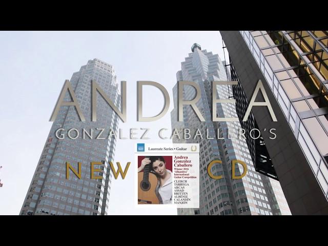 Andrea González Caballero, Naxos CD Promo Video