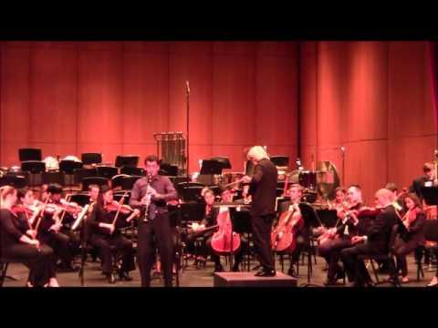 Mozart Clarinet Concerto - II movement  USC Thornton Symphony Orchestra Carl St. Clair - Conductor Sérgio Coelho - Soloist