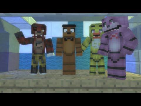 Minecraft ВЫЖИВАНИЯ с МИШКОЙ ФРЕДДИ в Доме из GTA 5 - Майнкрафт Пять Ночей с Фредди