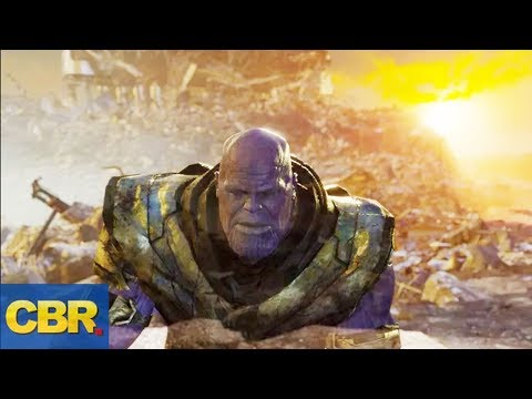 The New Avengers Endgame Deleted Scene Means Thanos May Be Alive