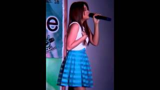 Morissette Amon sing Kapag ako ay nag mahal