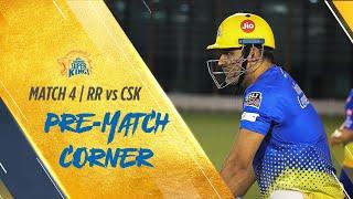 IPL 2020 Match 4: Pre-Match Corner: RR vs CSK #WhistlePodu #Yellove