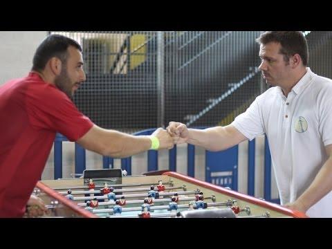 Babyfoot - Foosball - Evry 2013 - Sébastien FRIEDRICHS vs Halil KARAGOZ
