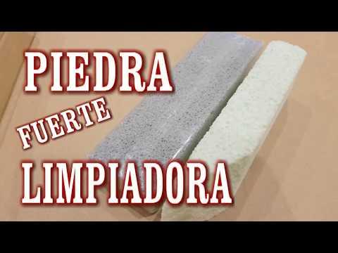 PIEDRA FUERTE LIMPIADORA, QUITA OXIDO, CAL, SARRO DE SANITARIOS Y MÁRMOL
