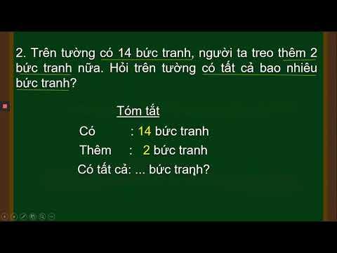 TOÁN LỚP 1 - LUYỆN TẬP (TRANG 121)