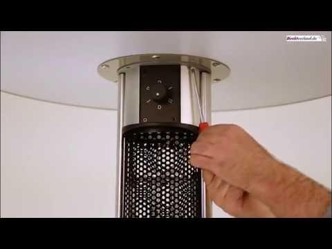Aufbauvideo Infrarotstehtisch - Stehtisch mit integrierter Infrarotheizung